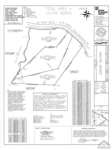 Photo of Tract C Foote McClellan Road, Colbert, GA 30628 (MLS # 982217)