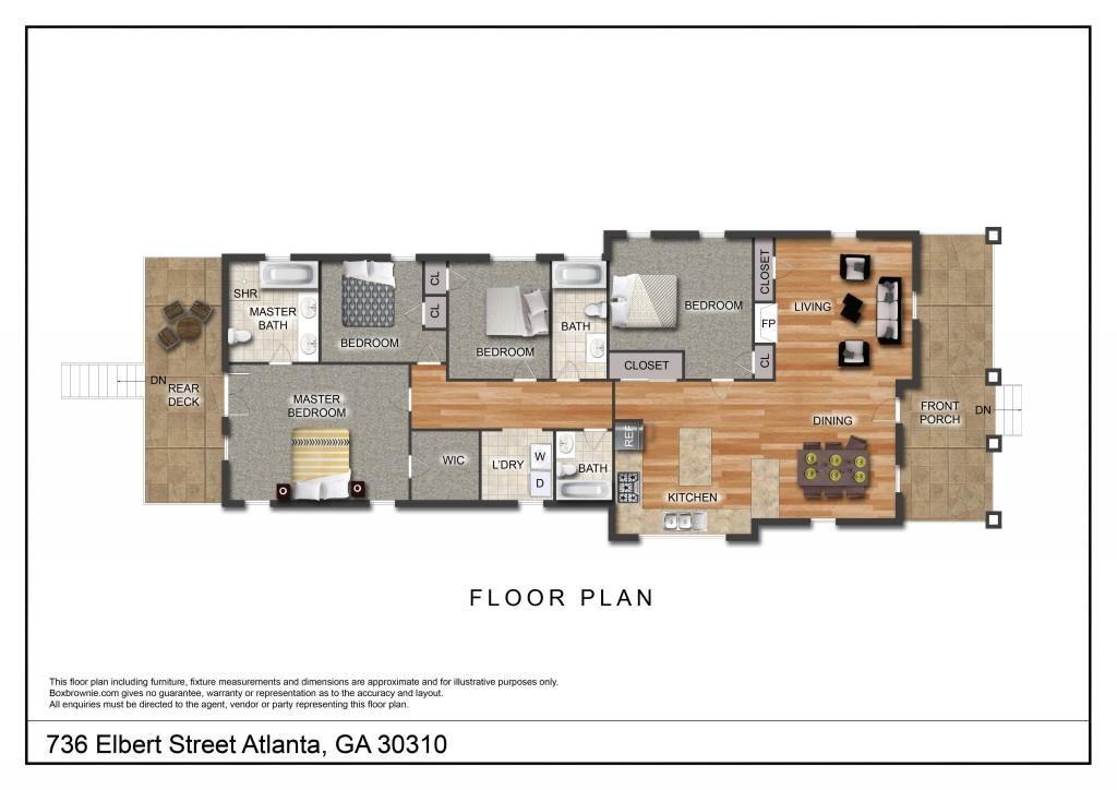 736 Elbert Street, Atlanta, GA 30310 - MLS#: 6736068