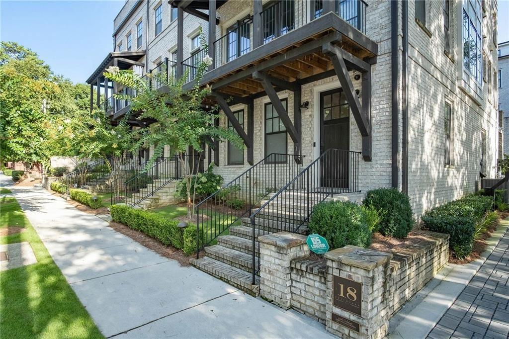 18 Peachtree Avenue NE #1 UNIT 1, Atlanta, GA 30305 - MLS#: 6824209