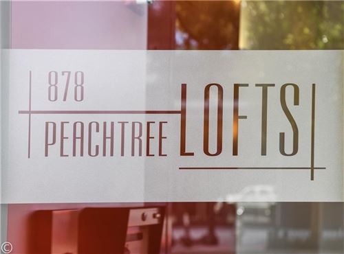 Tiny photo for 878 Peachtree Street NE #826, Atlanta, GA 30309 (MLS # 6783236)