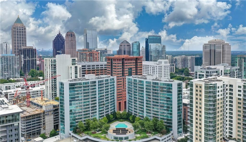 Photo for 950 West Peachtree Street NW #1307, Atlanta, GA 30309 (MLS # 6798357)