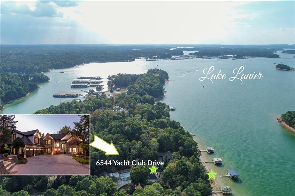 Photo of 6544 Yacht Club Road, Flowery Branch, GA 30542 (MLS # 6626378)