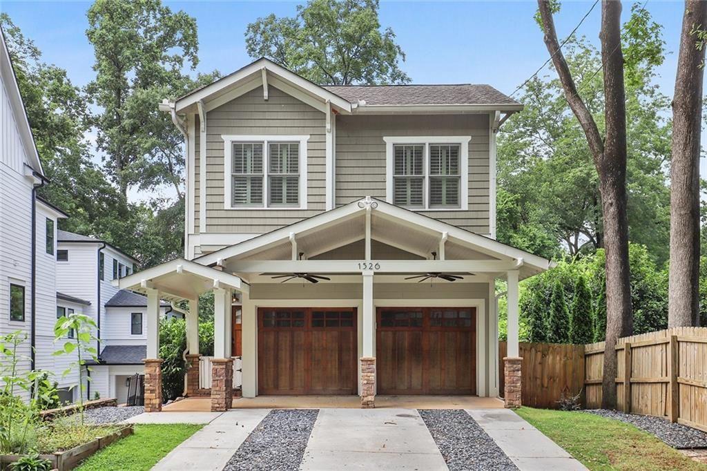 Photo of 1526 Iverson Street NE, Atlanta, GA 30307 (MLS # 6911397)