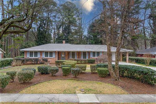 Photo of 1543 Knob Hill Drive NE, Atlanta, GA 30329 (MLS # 6841483)