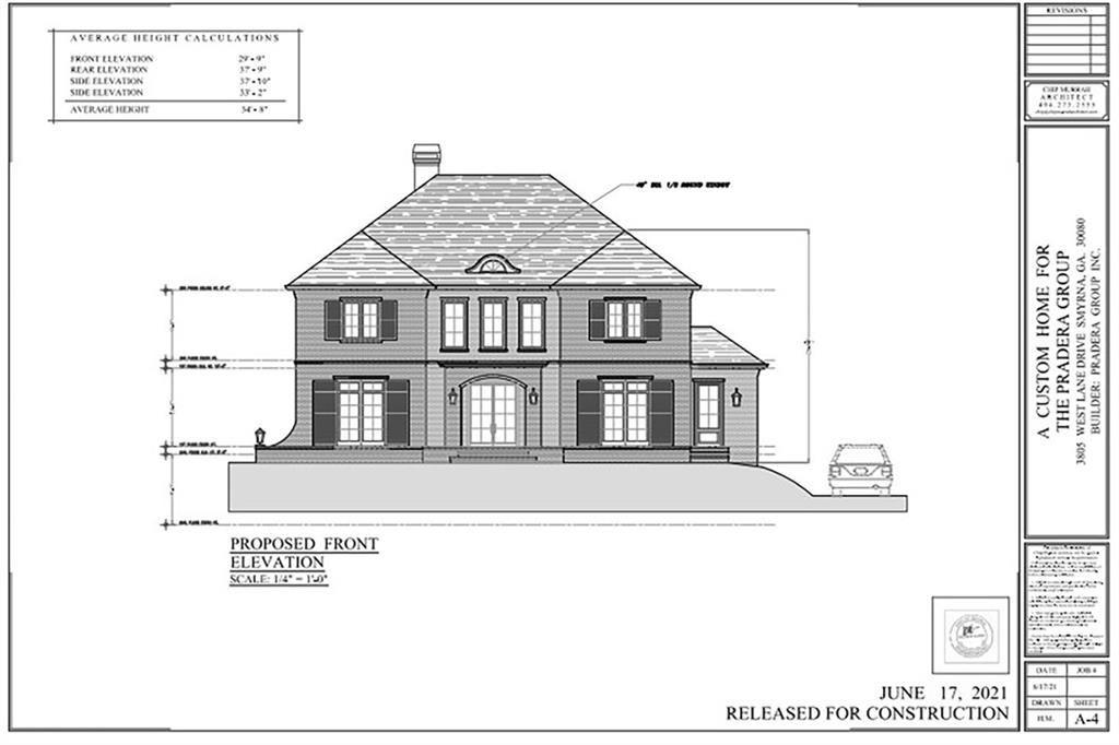3805 W Lane Drive SE, Smyrna, GA 30080 - MLS#: 6734722