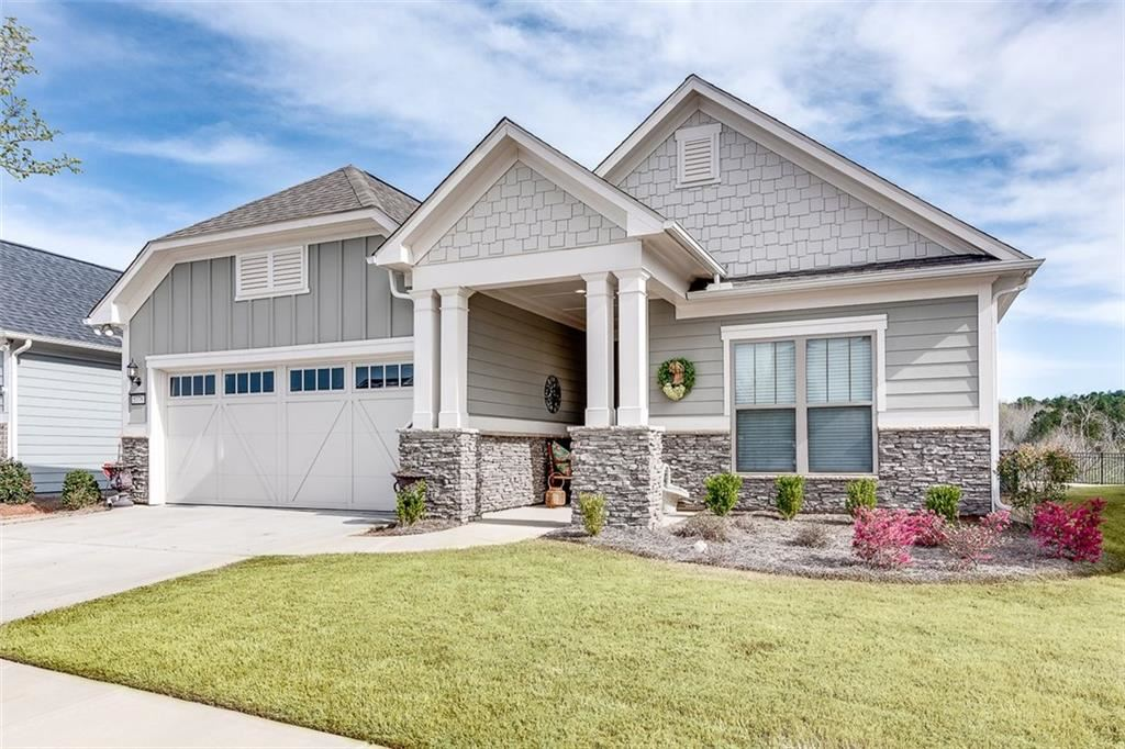 Photo of 5776 Cypress Bluff Lane, Hoschton, GA 30548 (MLS # 6855963)