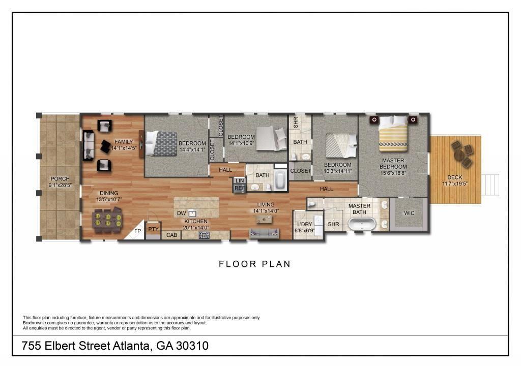755 Elbert Street, Atlanta, GA 30310 - MLS#: 6735987