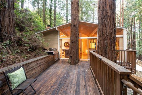 Photo of 2 Redwood Lane, Mill Valley, CA 94941 (MLS # 22004008)