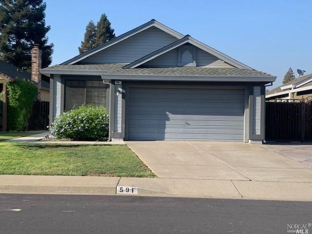 591 Eldridge Avenue, Vacaville, CA 95688 - MLS#: 321074037