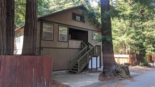 Photo of 18960 Hidden Valley Road, Guerneville, CA 95446 (MLS # 22021167)