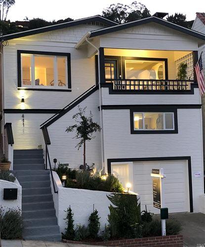 Photo of 411 Bonita Street, Sausalito, CA 94965 (MLS # 22025172)