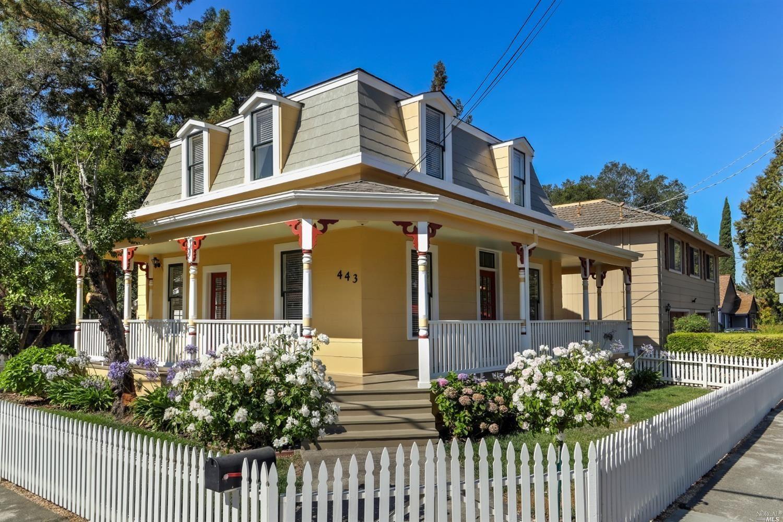 443 1st Street, Healdsburg, CA 95448 - MLS#: 321065248