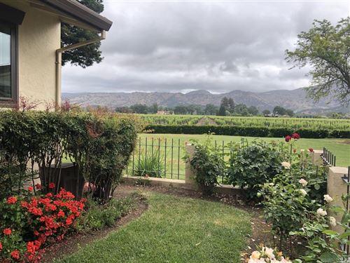 Photo of 150 Vineyard Circle, Yountville, CA 94599 (MLS # 22010356)