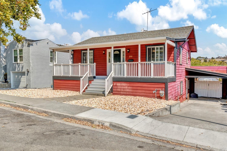 216 Fairmont Avenue, Vallejo, CA 94590 - MLS#: 321081417
