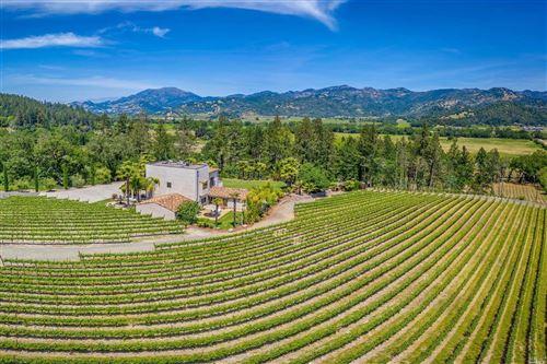 Photo of 4447 N. St. Helena Hwy Highway, Calistoga, CA 94515 (MLS # 22014448)