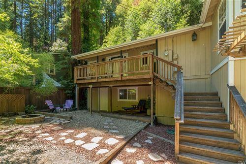 Photo of 19026 Hidden Valley Road, Guerneville, CA 95446 (MLS # 22017888)