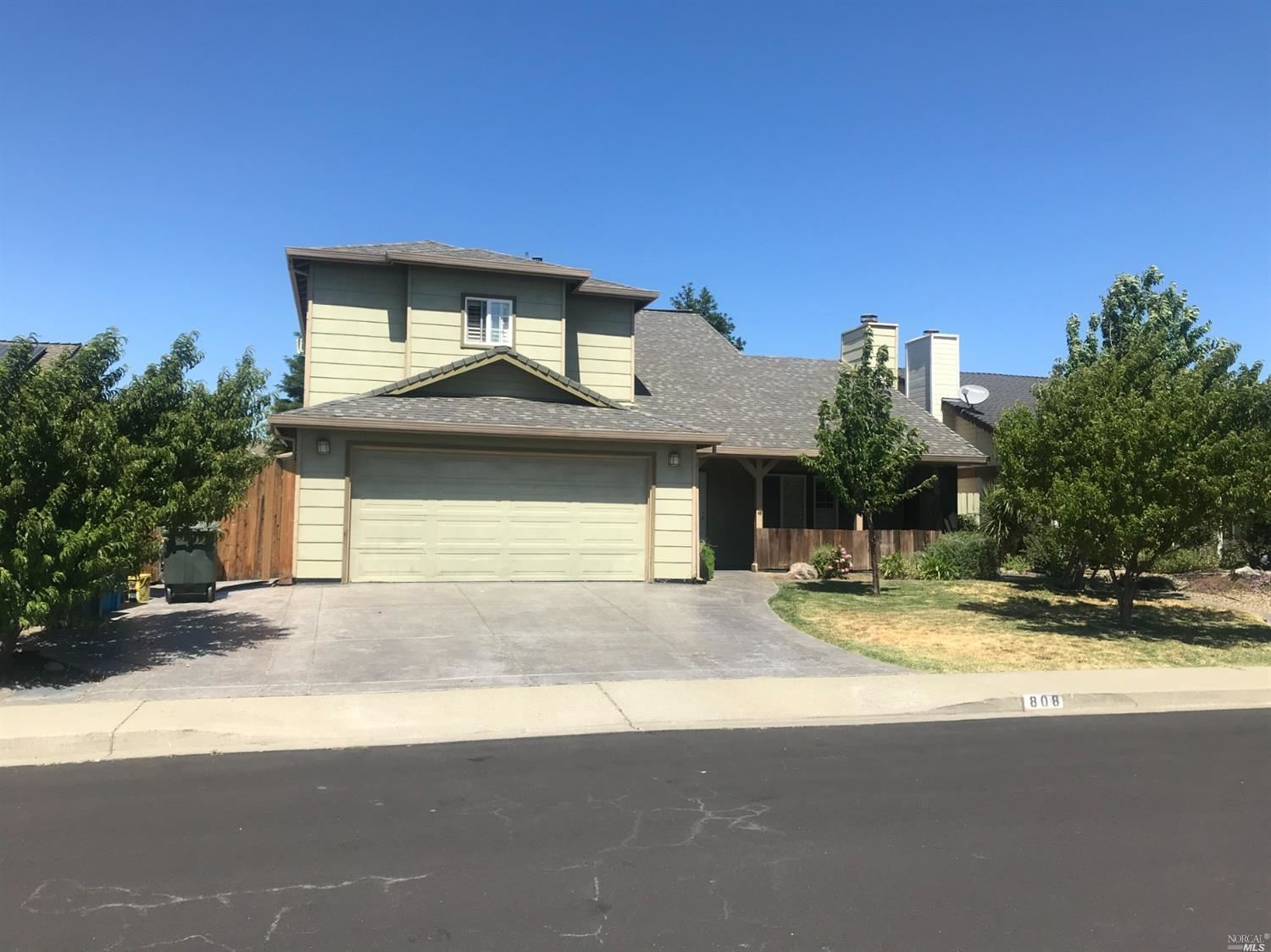 808 Saddle Horn Trail, Vacaville, CA 95687 - MLS#: 321059997
