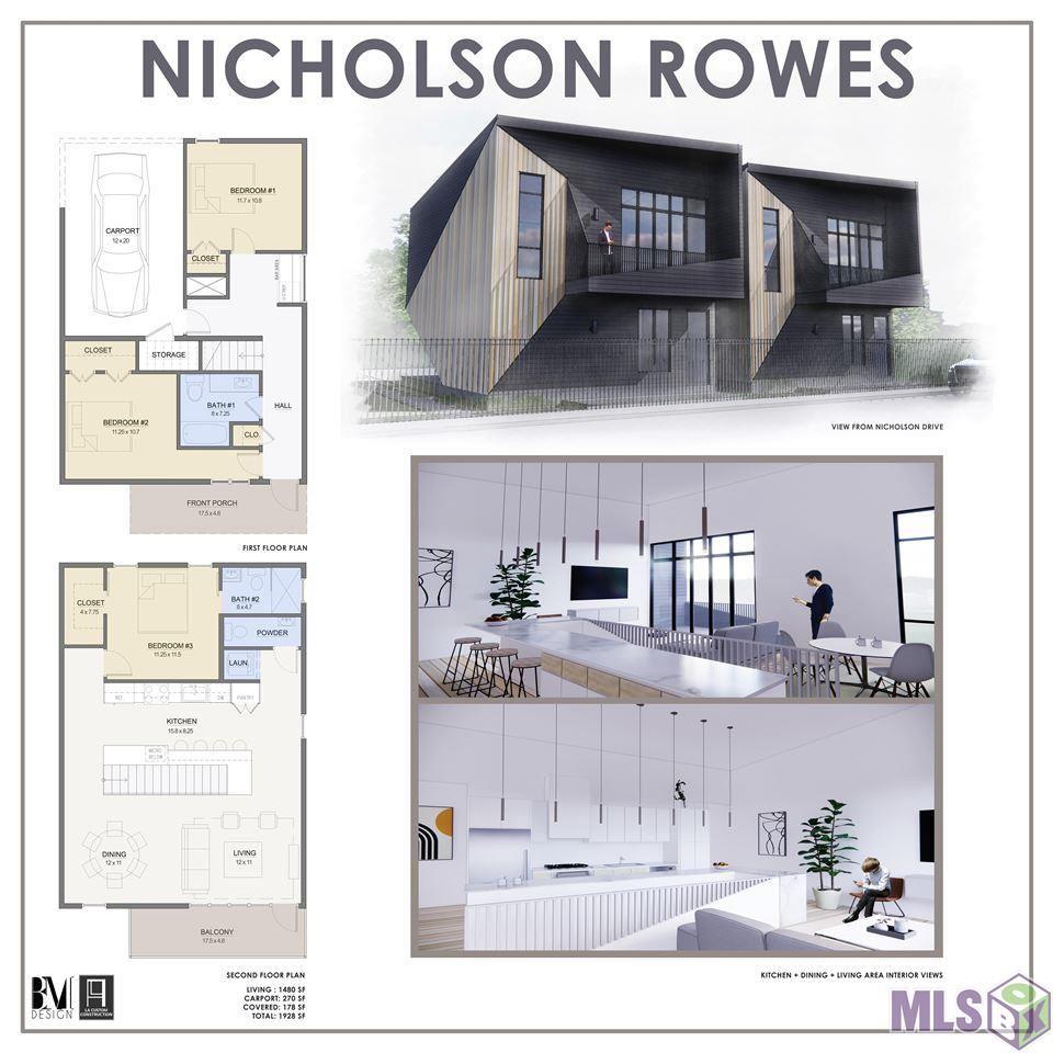 1533 NICHOLSON DR, Baton Rouge, LA 70802 - MLS#: 2021009213