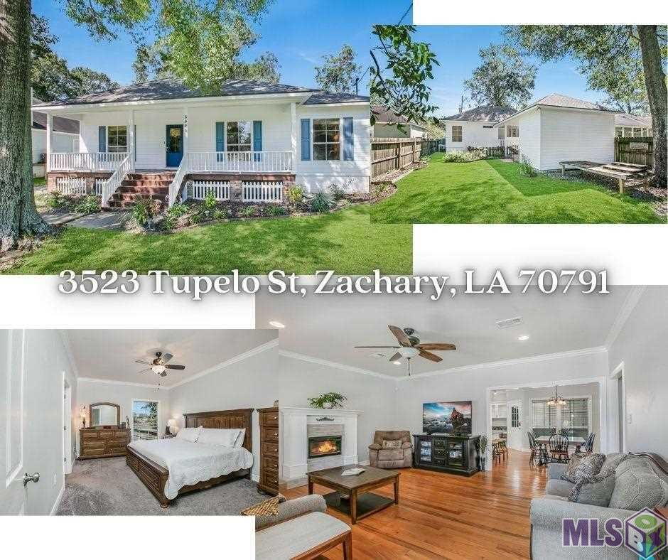 3523 TUPELO ST, Zachary, LA 70791 - MLS#: 2021014470