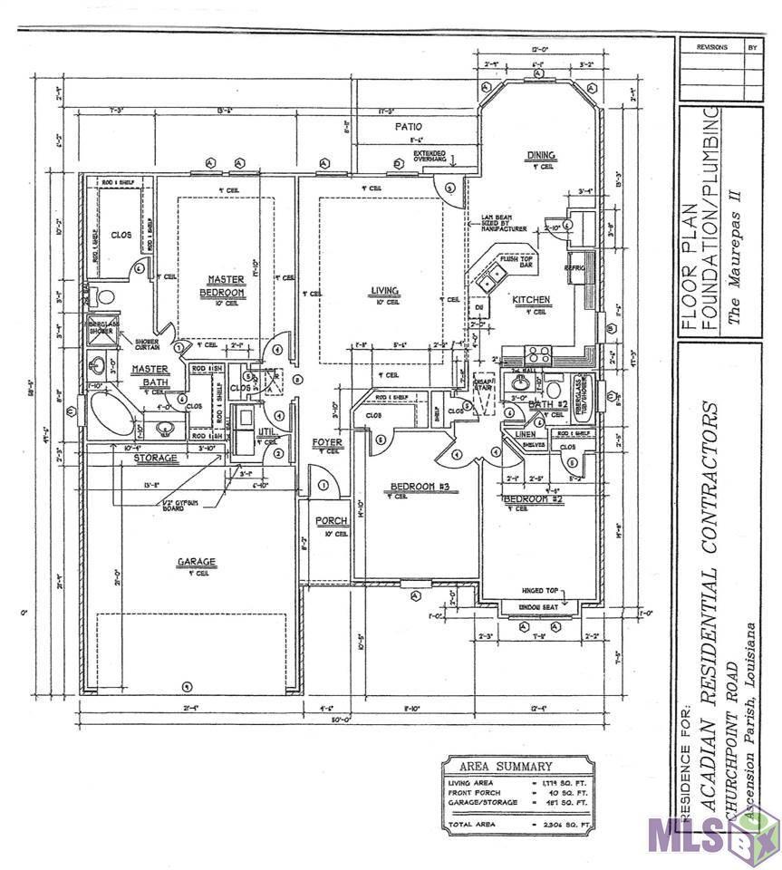 41407 CHURCH POINT RD, Gonzales, LA 70737 - MLS#: 2020018501