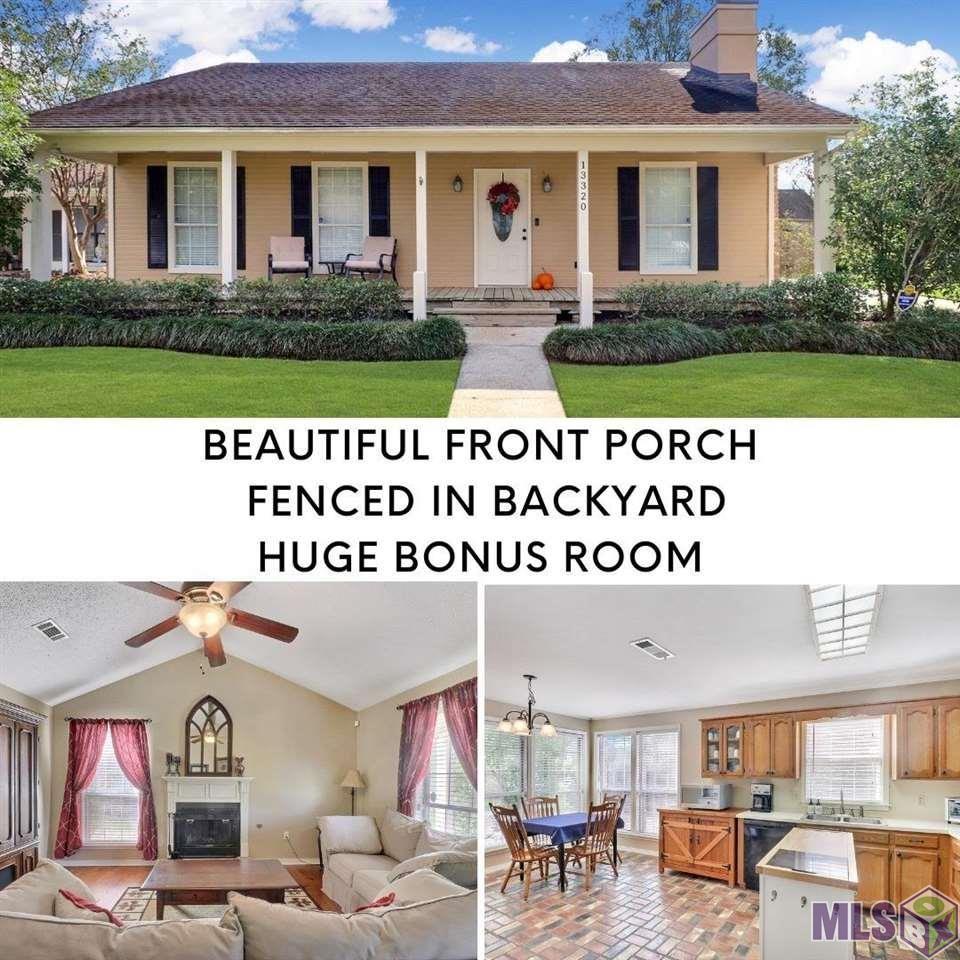 13320 COUNTRY MEADOW AVE, Baton Rouge, LA 70816 - MLS#: 2021016543