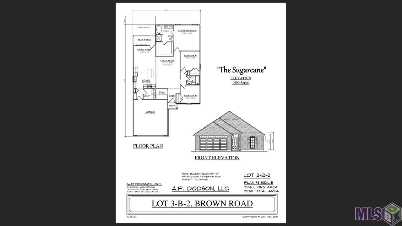 12644 BROWN RD, Denham Springs, LA 70726 - MLS#: 2020016731