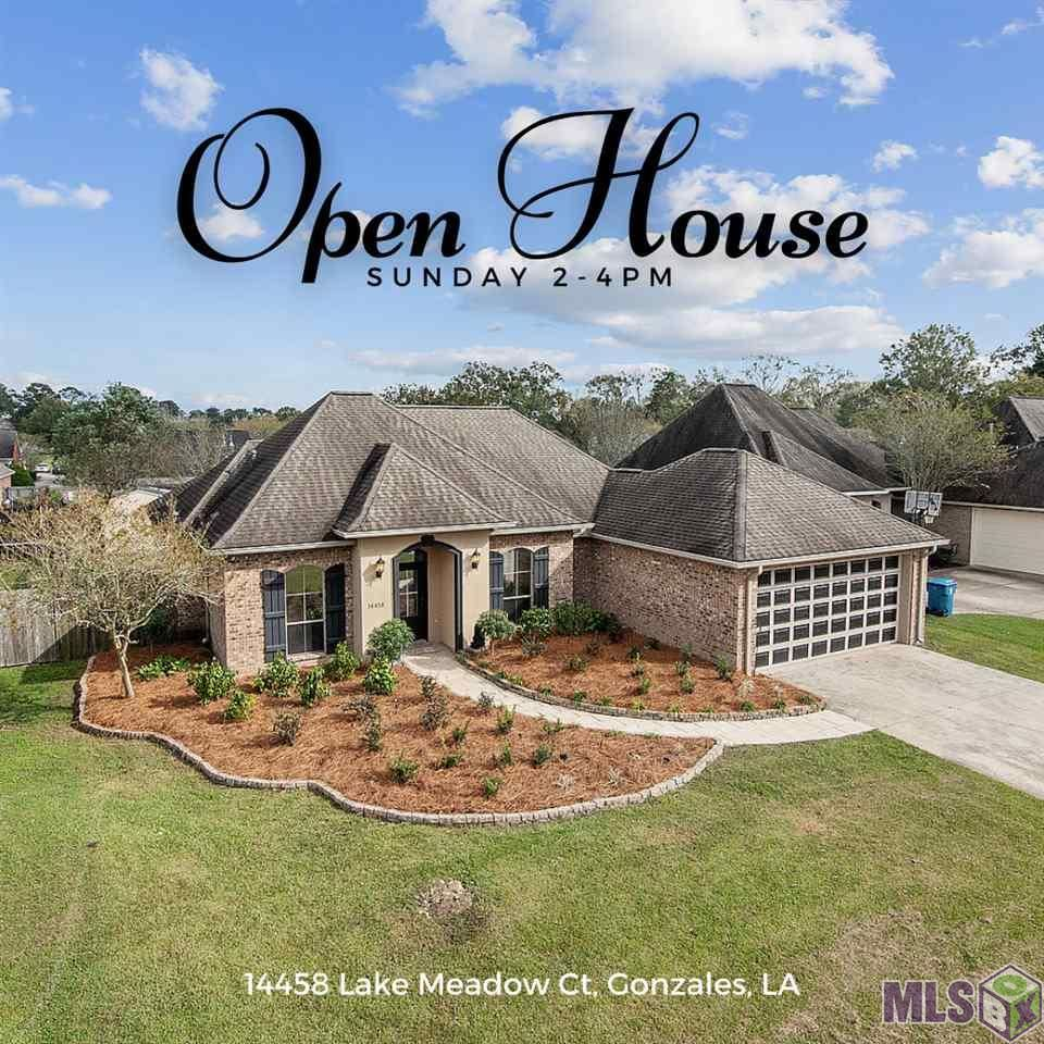 14458 LAKE MEADOWS CT, Gonzales, LA 70737 - MLS#: 2020017735