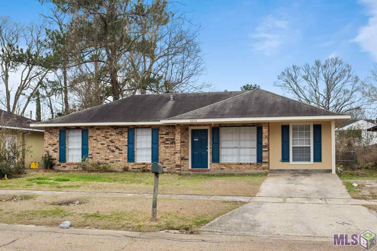 6676 E MONARCH AVE, Baton Rouge, LA 70812 - MLS#: 2021002798