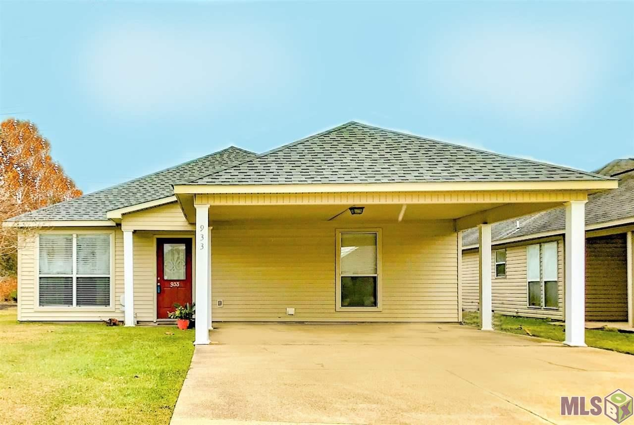 933 MEADOW GLEN AVE, Zachary, LA 70791 - MLS#: 2020018811