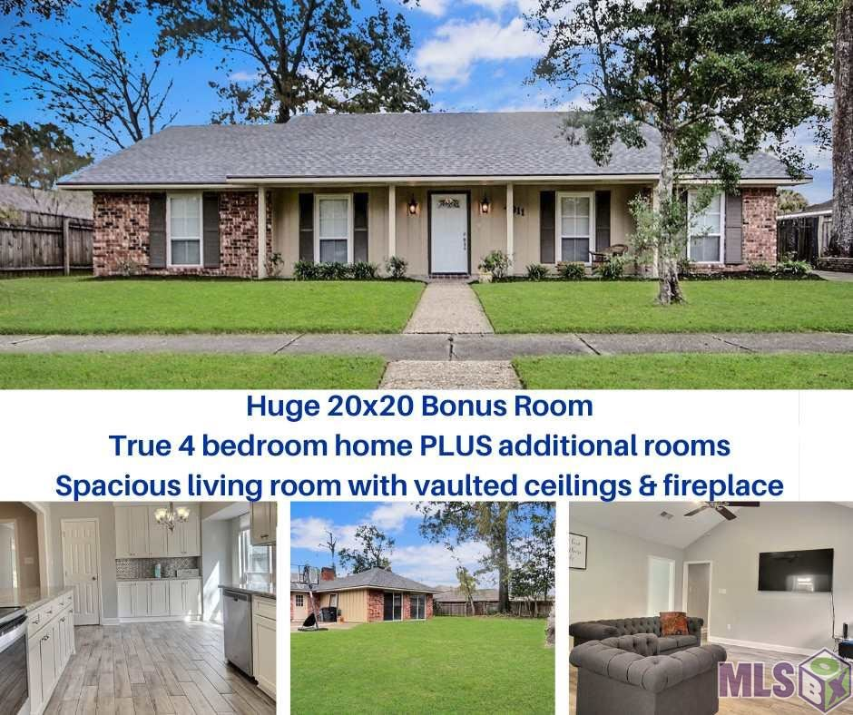 4911 PINE HILL DR, Baton Rouge, LA 70817 - MLS#: 2020016935