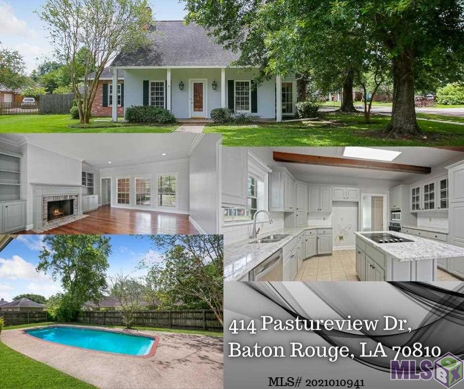 414 PASTUREVIEW DR, Baton Rouge, LA 70810 - MLS#: 2021010941