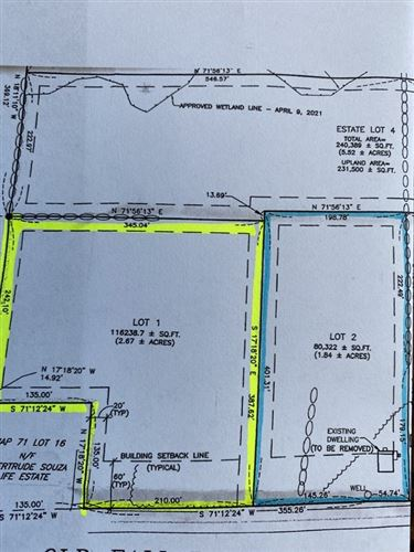 Photo of 821  Lot 2 Old Fall River Road, Dartmouth, MA 02747 (MLS # 72844252)