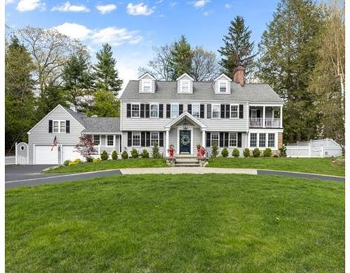 Photo of 21 Old Colony Rd, Wellesley, MA 02481 (MLS # 72609689)