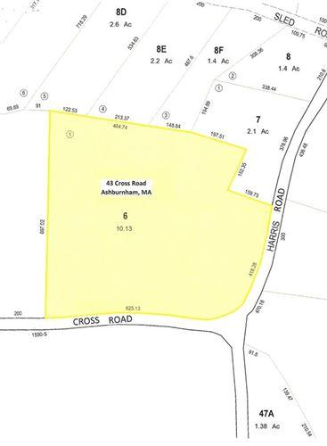 Photo of Lot 1 Cross Road, Ashburnham, MA 01430 (MLS # 72827762)