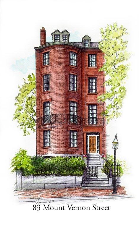 83 Mount Vernon St, Boston, MA 02108 - MLS#: 72707850