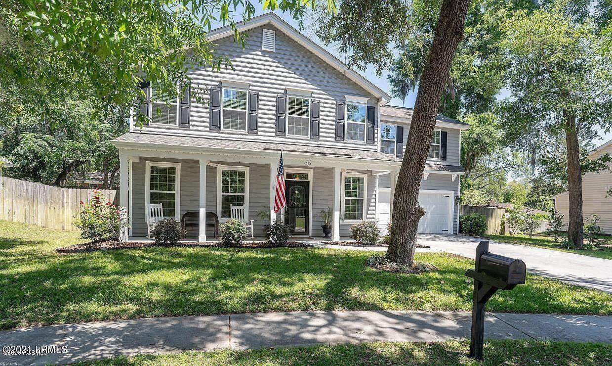515 Abner Lane, Beaufort, SC 29902 - MLS#: 173197