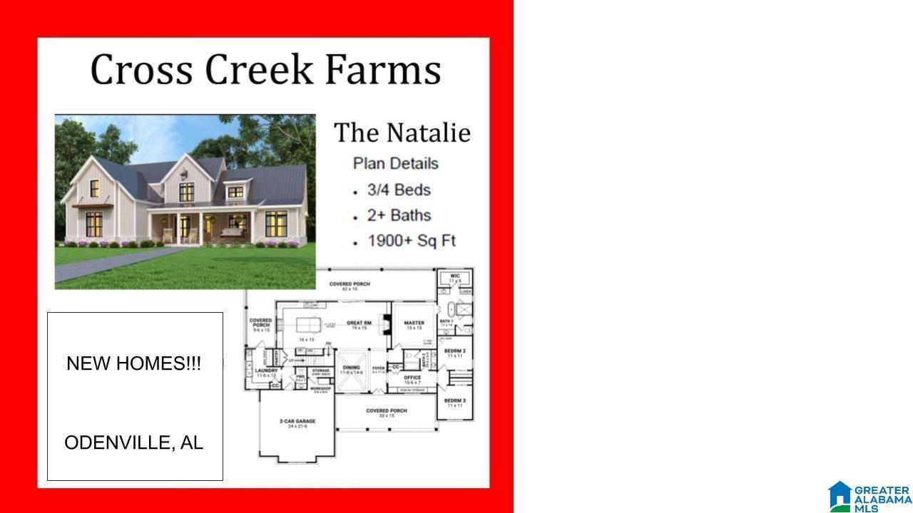 CROSS CREEK DRIVE, Odenville, AL 35120 - MLS#: 1293185