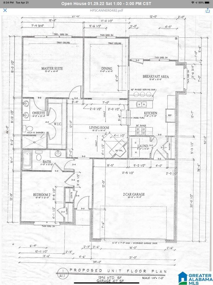 36 RED CAMELLIA COURT, Pell City, AL 35128 - MLS#: 900417