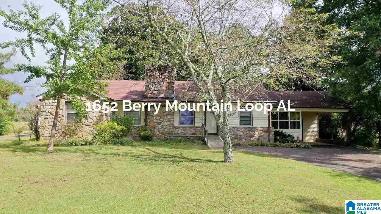1652 BERRY MTN LOOP, Blountsville, AL 35013 - MLS#: 1300609
