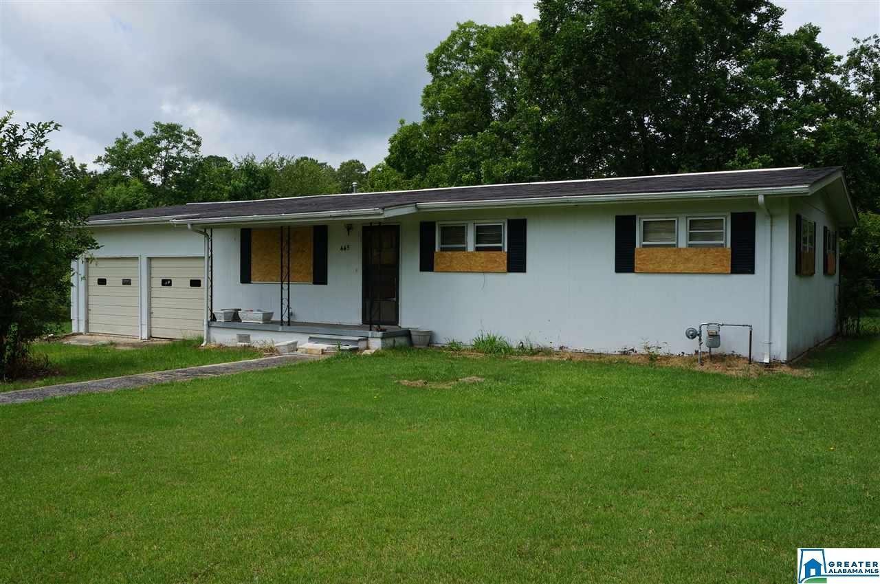 445 ROBERTSON RD, Sylacauga, AL 35150 - #: 885669