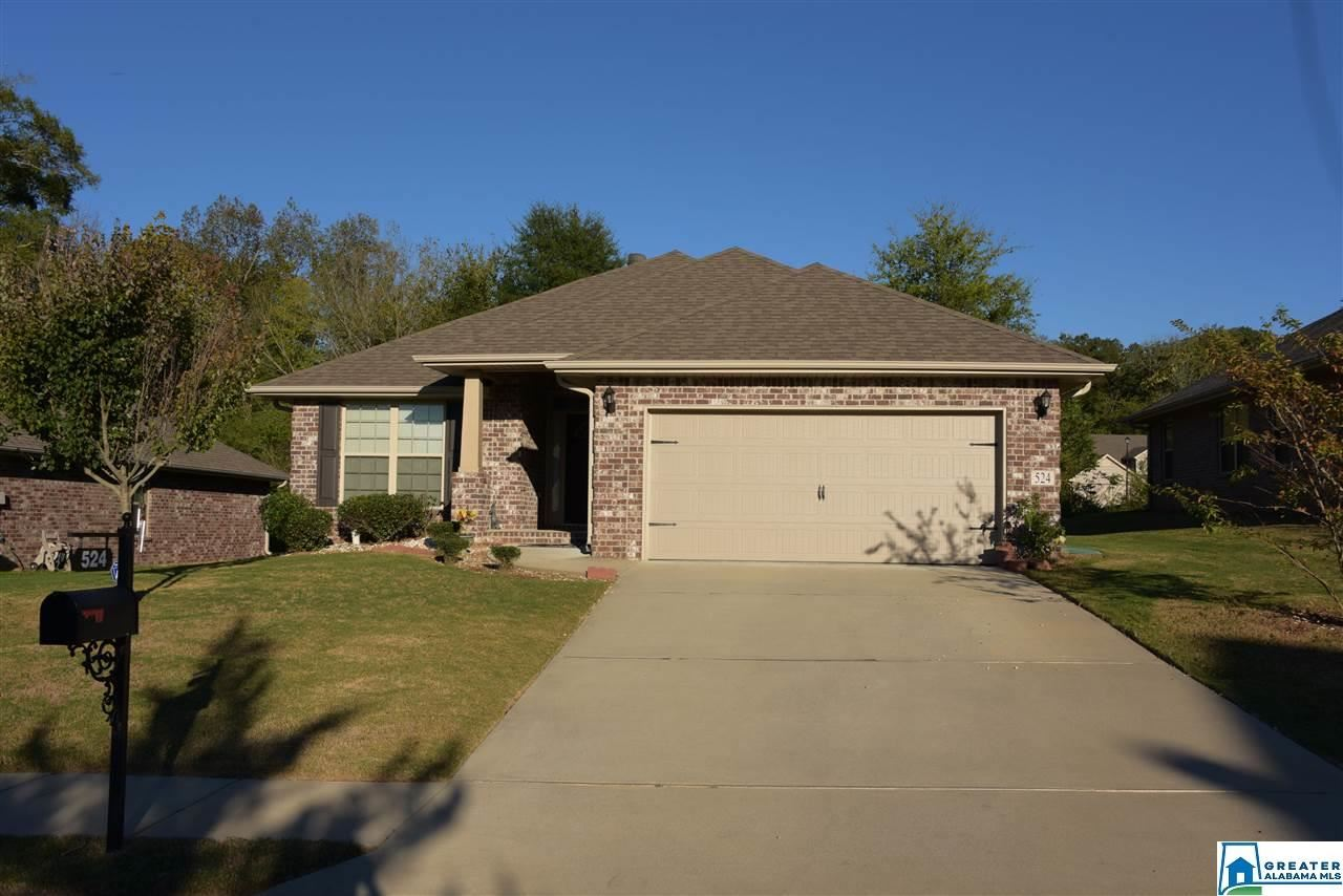 524 GREEN MEADOWS TRL, Maylene, AL 35114 - #: 867958