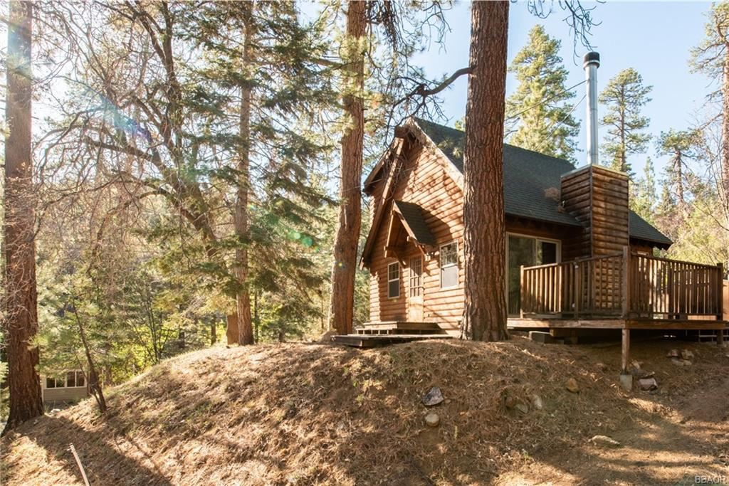 Photo of 1271 Canyon Drive, Fawnskin, CA 92333 (MLS # 32104109)