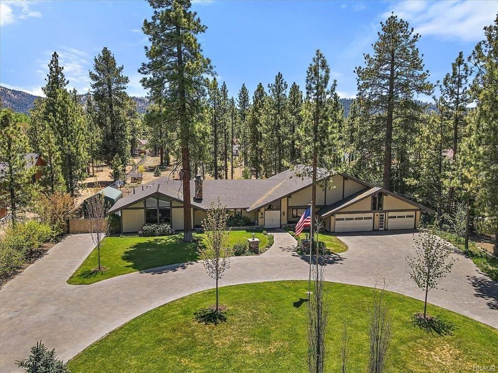Photo of 42785 Fox Farm Road, Big Bear Lake, CA 92315 (MLS # 32104196)