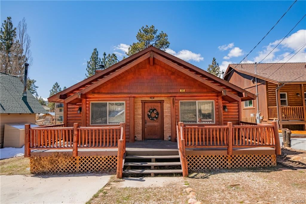 Photo of 502 Lakewood Lane, Big Bear City, CA 92314 (MLS # 32101625)