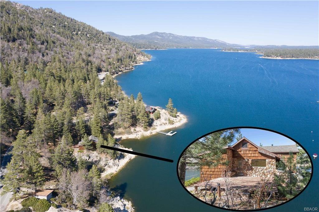 Photo of 203 Big Bear Trail, Fawnskin, CA 92333 (MLS # 32000737)