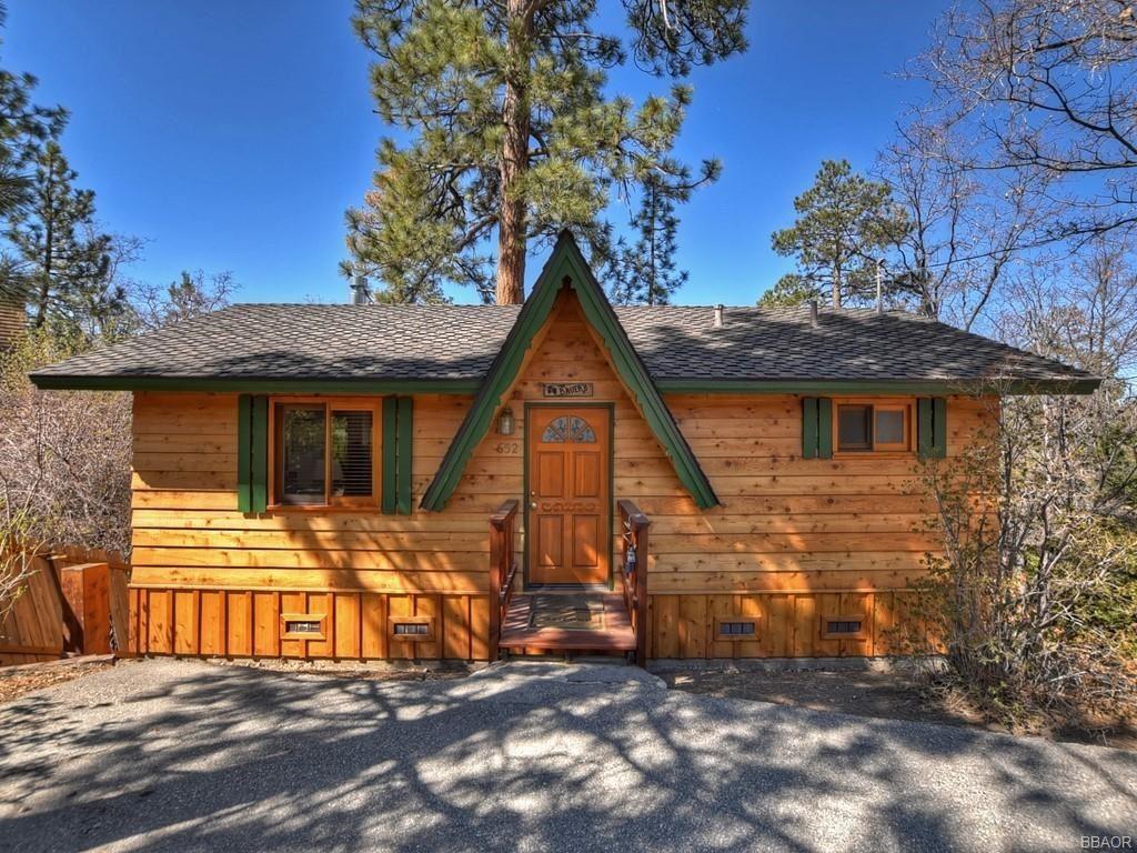 Photo of 652 Menlo Drive, Big Bear Lake, CA 92315 (MLS # 32102811)