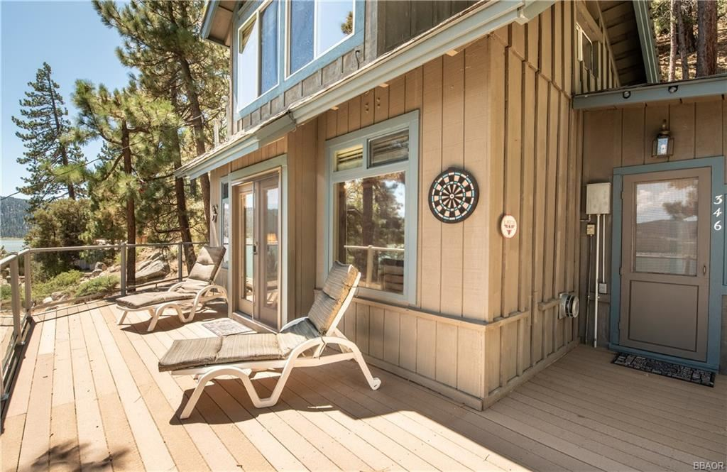Photo of 346 North Shore Drive, Fawnskin, CA 92333 (MLS # 31907956)