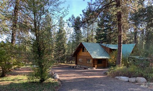 Photo of 3432 South End Road, New Meadows, ID 83654 (MLS # 98768007)