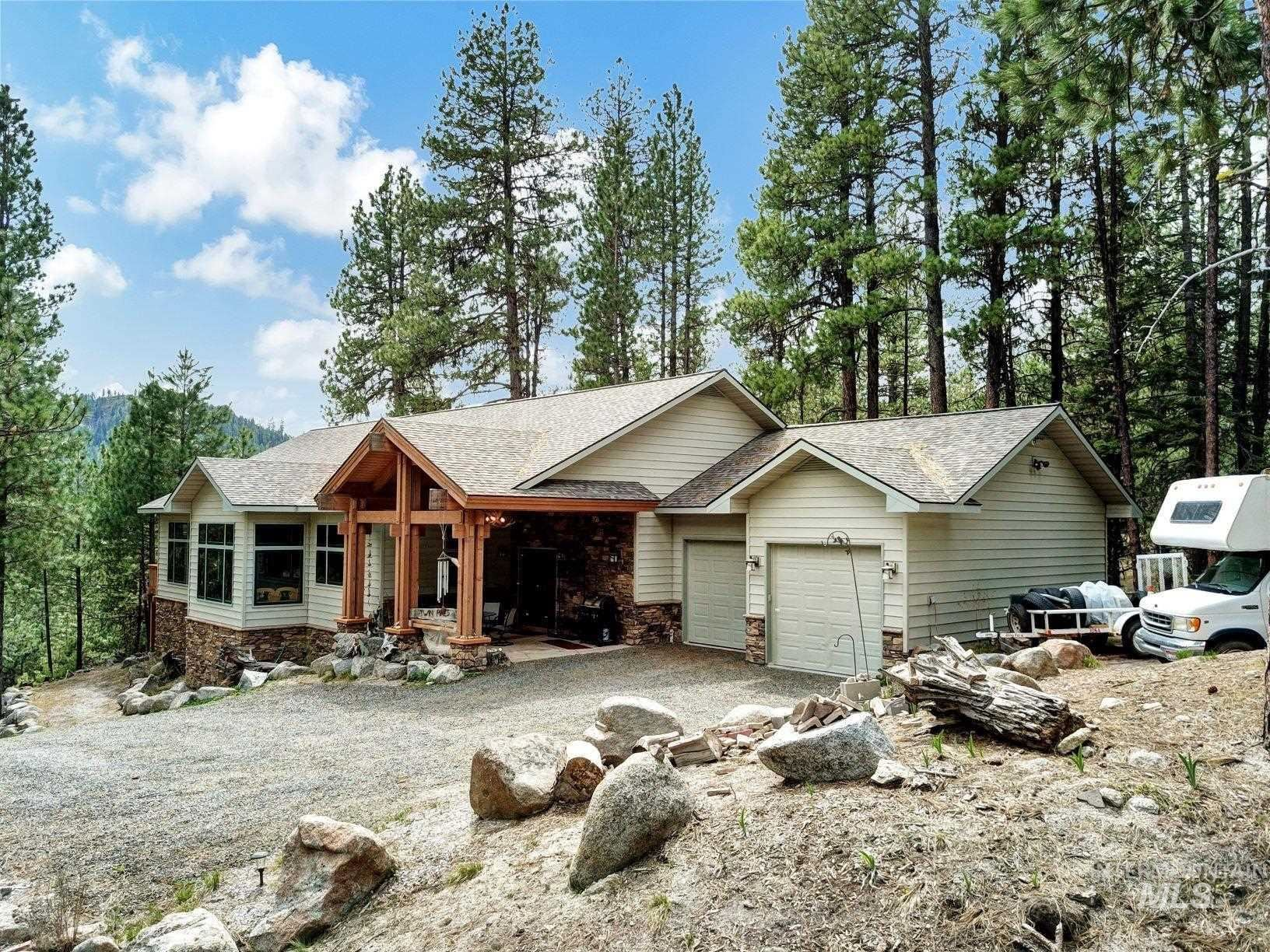 Photo of 9753 Moore Drive, Smiths Ferry, ID 83611 (MLS # 98803313)