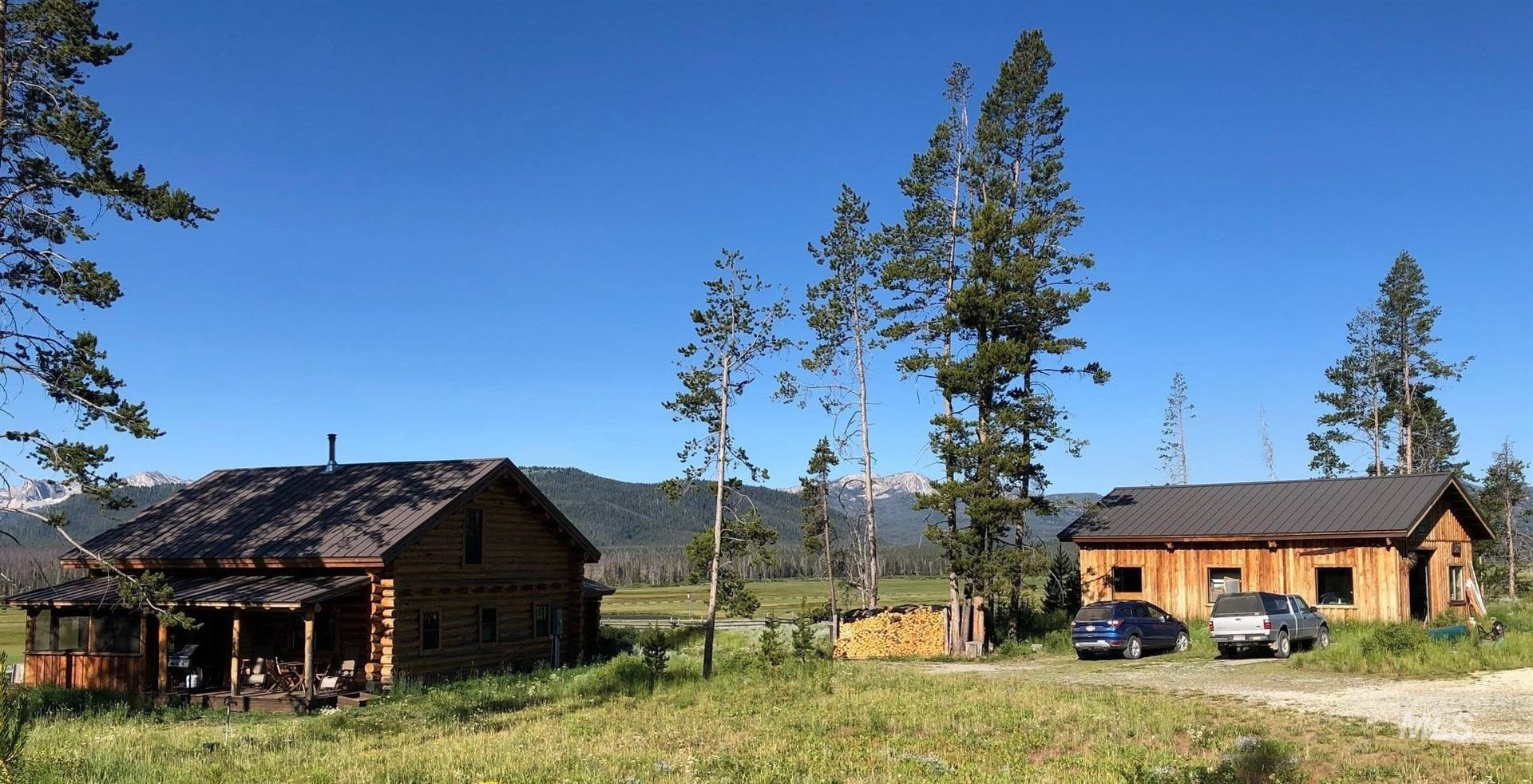 Photo of 2383 Cow Camp Rd, Stanley, ID 83278 (MLS # 98811575)